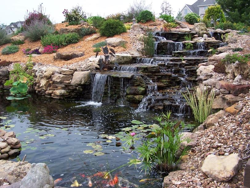 RMS-watergardengirl_garden-pond-waterfall-koi_s4x3