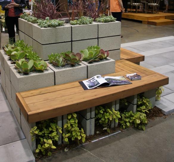 concrete bench diy