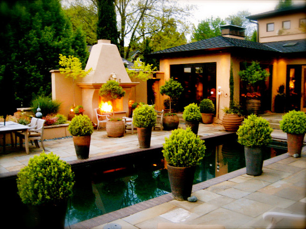 RMS-allende_patio-pool-planters-boxwood-fireplace_s4x3_lg